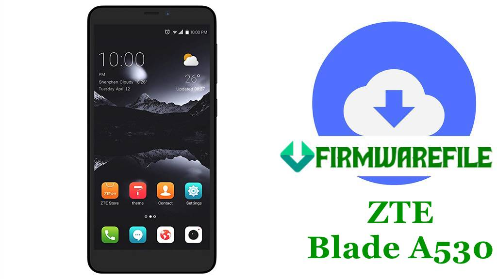 ZTE Blade A530 Firmware Flash File Stock ROM